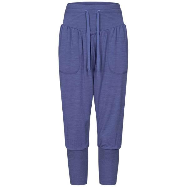 Super.Natural Harem Pants Damen Merino Yogahose blau