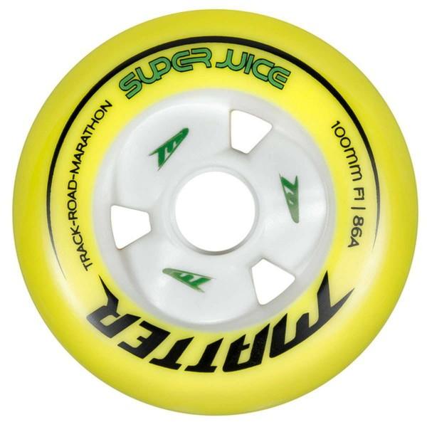 Matter Wheels Super Juice 100mm F1 Inline Skates Rolle