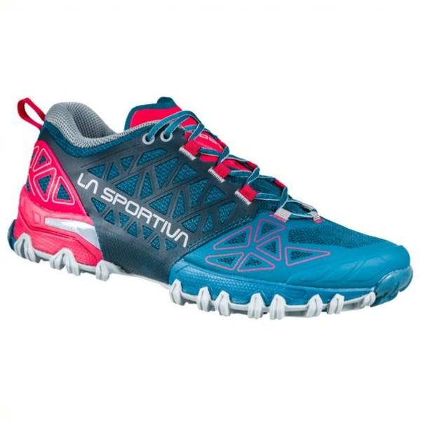 La Sportiva Bushido II Trail Running Damen Laufschuhe blau