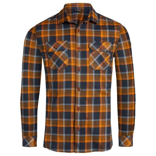 VAUDE Jerpen LS Shirt II Freizeithemd blau orange