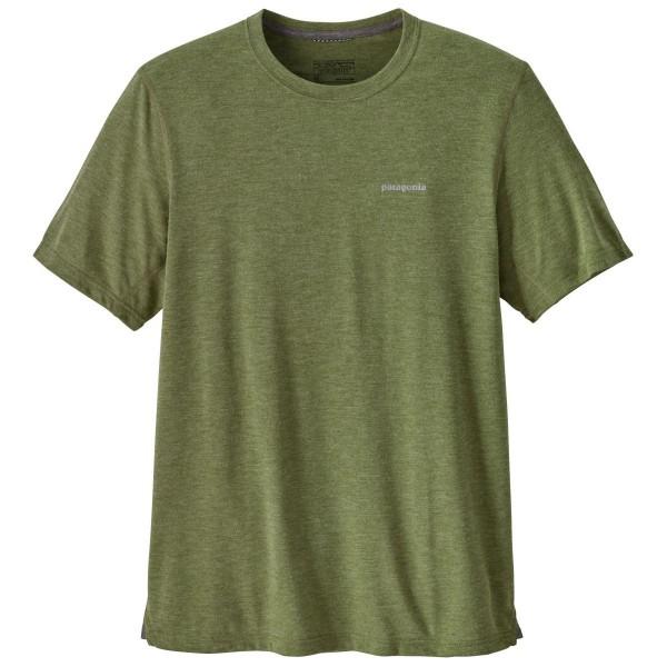 Patagonia SS Nine Trails Shirt Funktionsshirt grün
