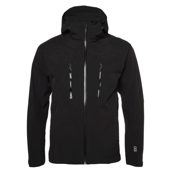North Bend Nos Flex Stretch Wanderjacke schwarz