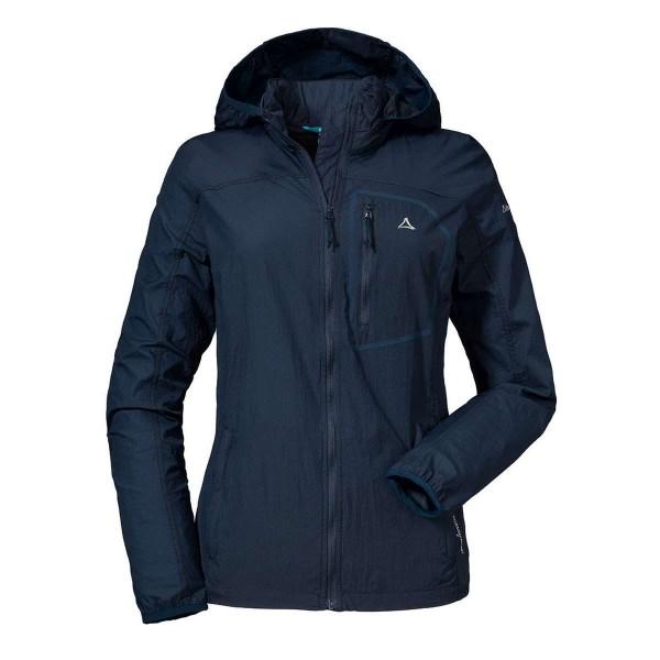 Schöffel Windbreaker Jacket L2 Damen Funktionsjacke blau