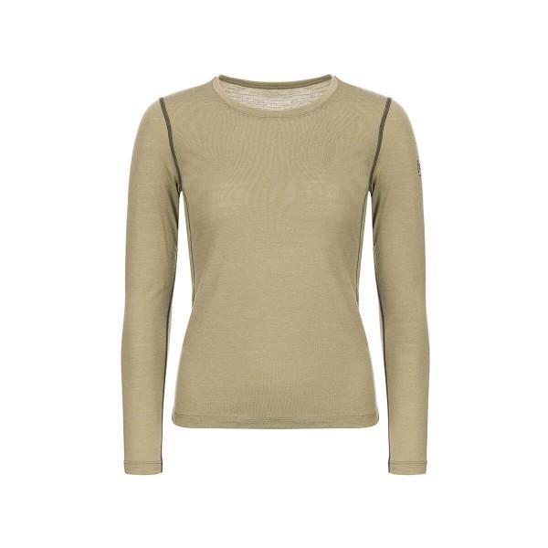 Super.Natural Base LS 175 Damen Langarmshirt Merino Funktionsshirt khaki