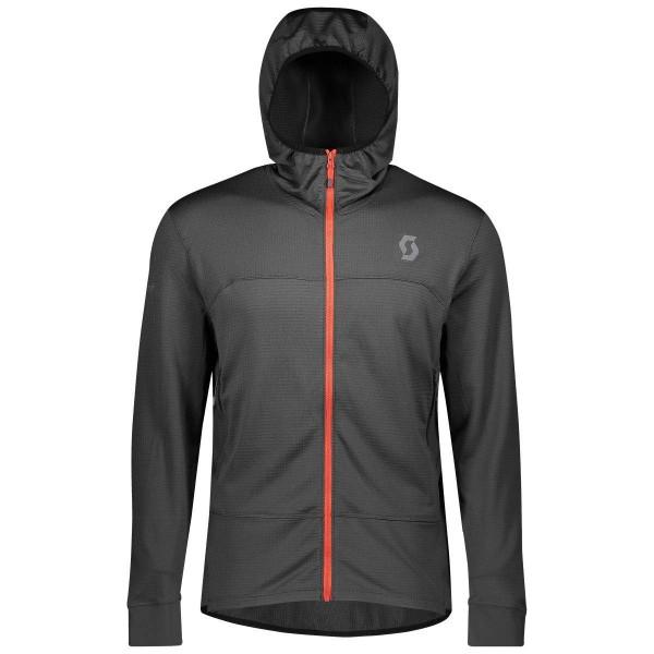 Scott Trail MTN Fleece W/Hood Jacket Laufjacke grau