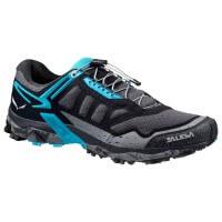 Salewa Ultra Train Trail Running Damen Laufschuhe schwarz