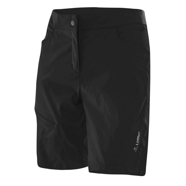 Löffler W Bike Shorts Comfort CSL Damen Radhose kurz schwarz