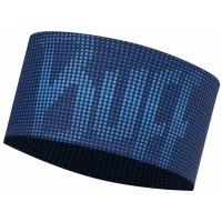 Buff Headband Deep Logo Stirnband blau