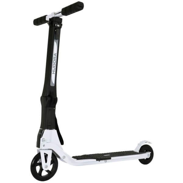 Hudora Tour Scooter Roller weiß