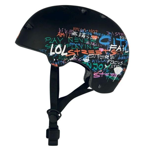 Ennui BCN Helmet Inline Skaterhelm 54-58cm schwarz