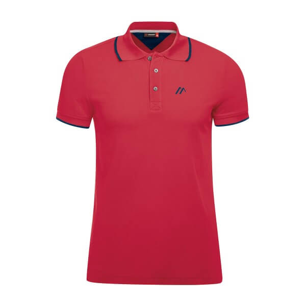 Maier Sports Comfort Polo Shirt rot