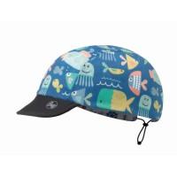 Buff Child Cap Surf Traveller Kinder Schildmütze Wendemütze blau
