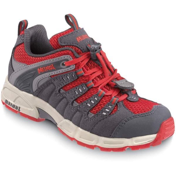 Meindl Respond Junior Kinder Schuhe grau rot