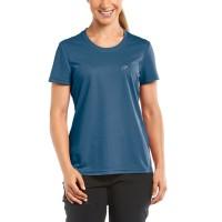 Maier Sports Waltraud Damen T-Shirt dunkelblau