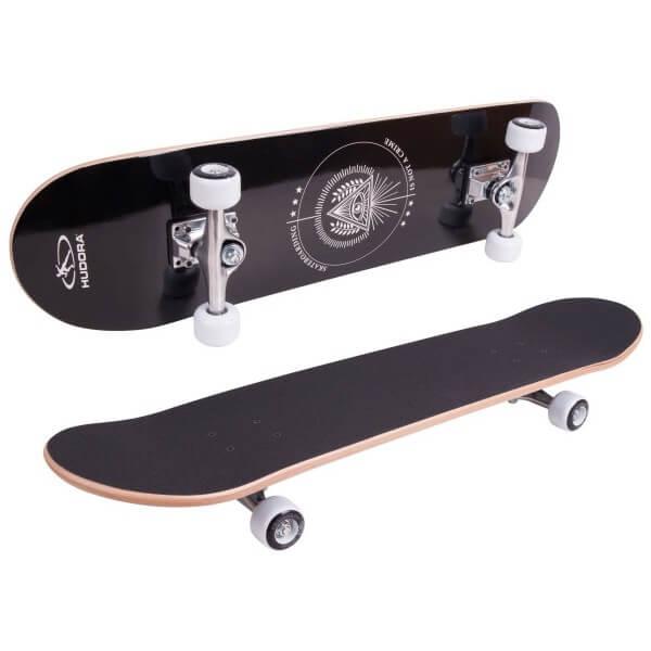Hudora Skateboard Columbia Heights Abec 3 mit Rucksack