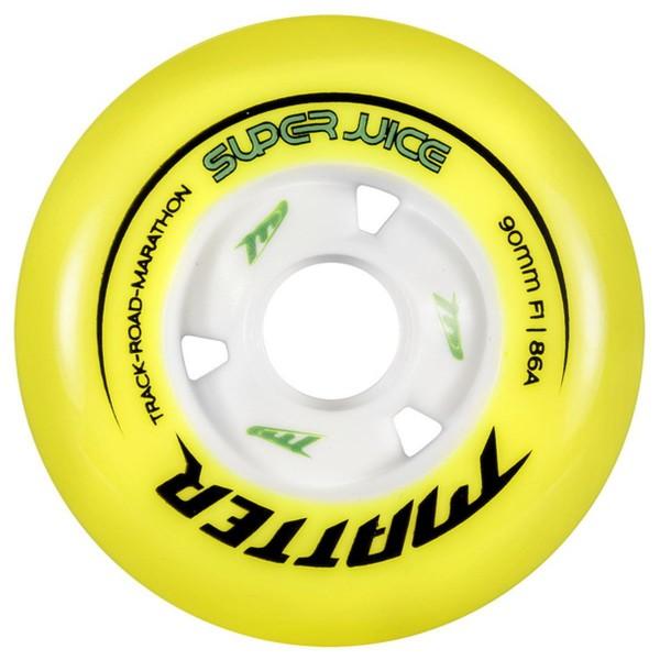 Matter Super Juice 90mm Inline Skates Racing Wheels Rolle F1