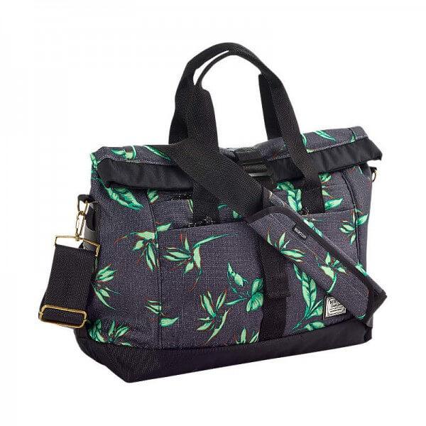 Burton Charter Messenger Bag Umhängetasche grau hawaiian heather