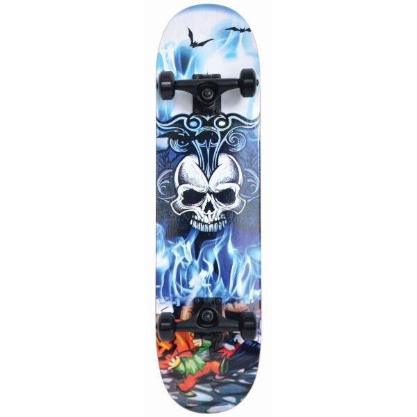 Schildkröt Grinder 31' Inferno Skateboard blau