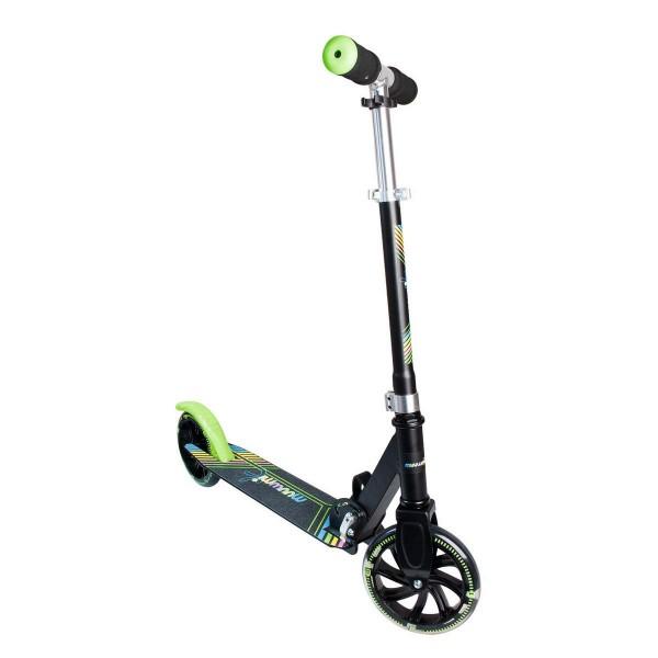 Muuwmi Aluminium Scooter Neon 180mm Leuchtrollen