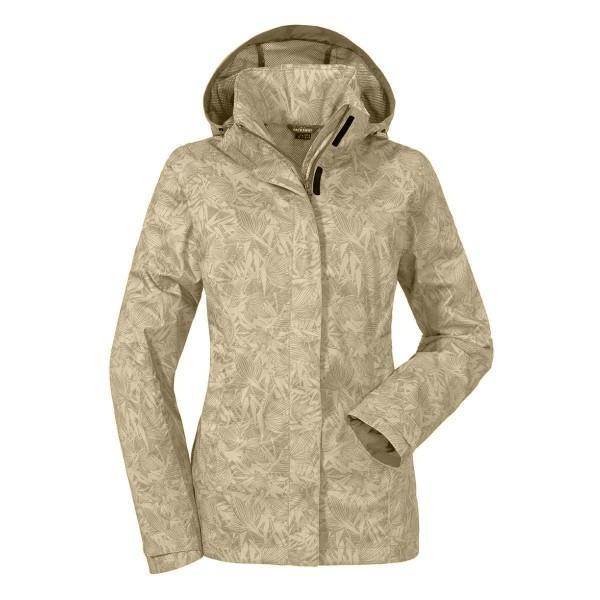 Schöffel Easy L3 AOP Jacket Damen Funktionsjacke beige
