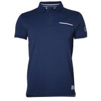 North Baseline Pique Polo Shirt blau