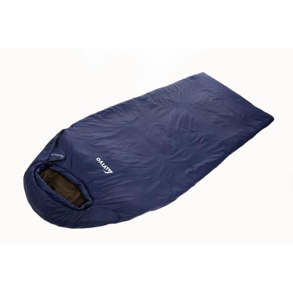 Alvivo Komfort 0 Polyester Schlafsack blau