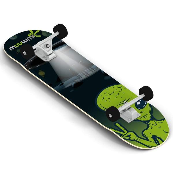 Muuwmi Skateboard Alien