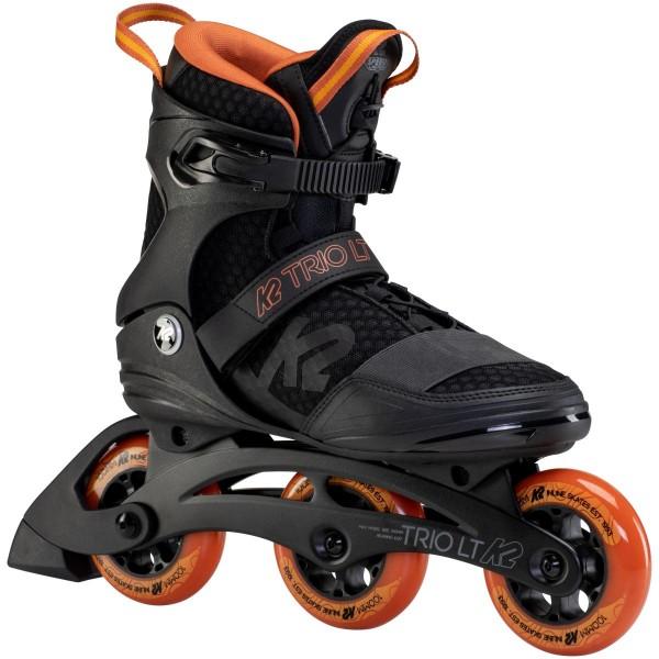 K2 Trio LT 100 Inline Skates schwarz orange