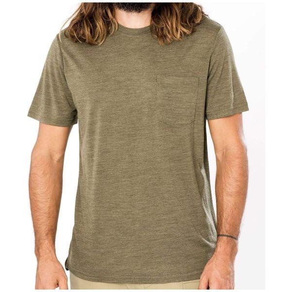 Super.Natural M City Tee Merino T-Shirt grün