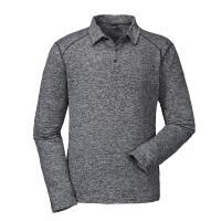 Schöffel Longsleeve Dover langarm Polo Shirt grau