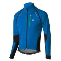 Löffler Bike Zip Off Windstopper Softshell light Radjacke blau