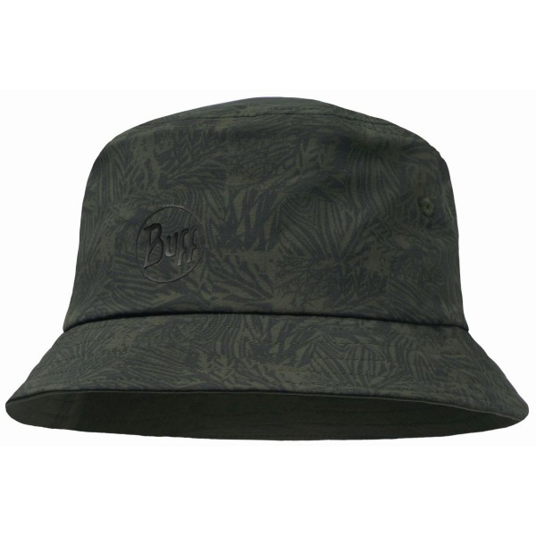 Buff Trek Bucket Hat Checkboard Hut grün