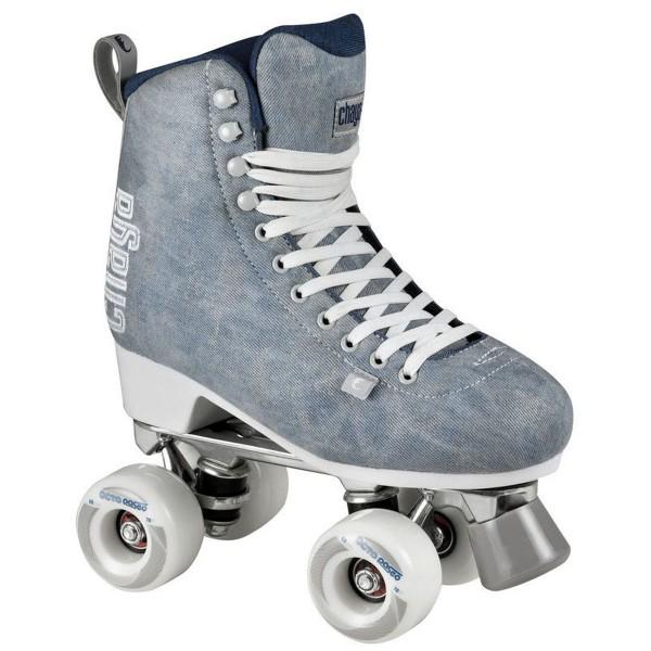 Chaya Melrose Denim Lifestyle Deluxe Rollers Rollschuhe blau