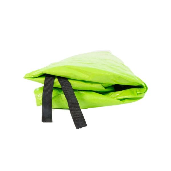 Trampolin Regenschutz 300 Wetterschutz grün