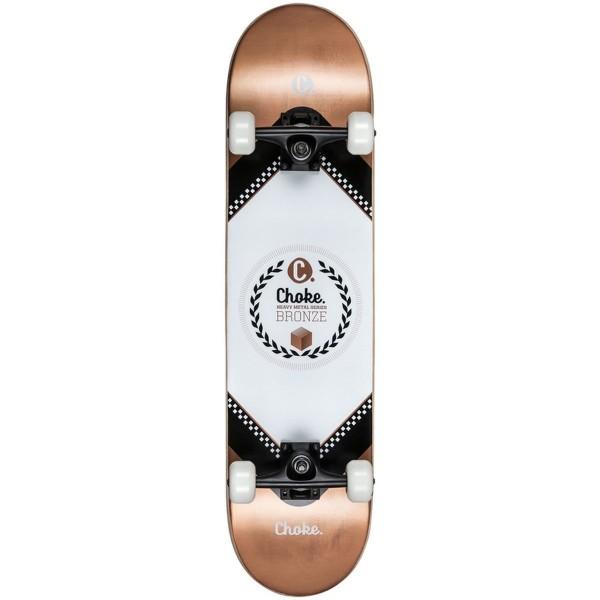 Choke Heavy Metal Skateboard Bronze