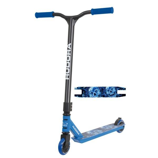 Hudora Stunt Scooter XQ-12 blau
