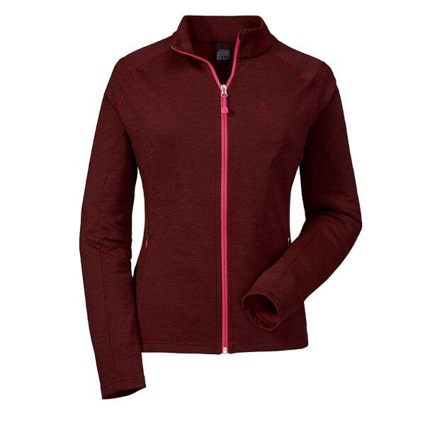 Schöffel Fleece Jacket Nagoya Damen Fleecejacke dunkelrot
