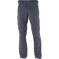 Salomon Wayfarer Zip Pants Wanderhose lang grau