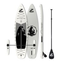 Indiana Inflatable SUP 11'6 Fisher Fiji Set Basic mit 3 teiligem Fibre Plastik Paddel 2017