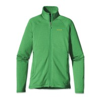 Patagonia Damen Fleecejacke R1 Full Zip Jacket grün