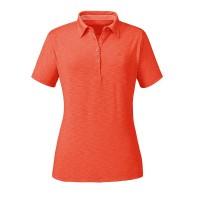 Schöffel Capri1 Damen Polo Shirt orange