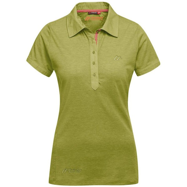 Maier Sports Clare Damen Polo Shirt grün