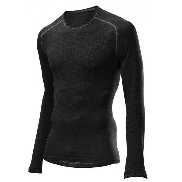 Löffler Shirt Transtex warm Langarmshirt Funktionsunterwäsche schwarz