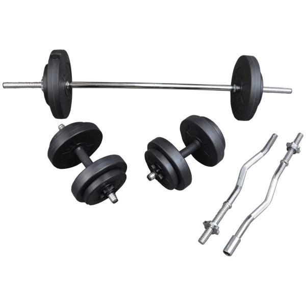 TheWay Hantelstangen Training Set 36kg