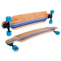 Hudora Longboard Blacks Beach beige blau