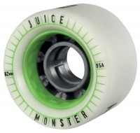 Juice Spiked Series Monster Longboards Rollen Set 4 Stück 62mm grün