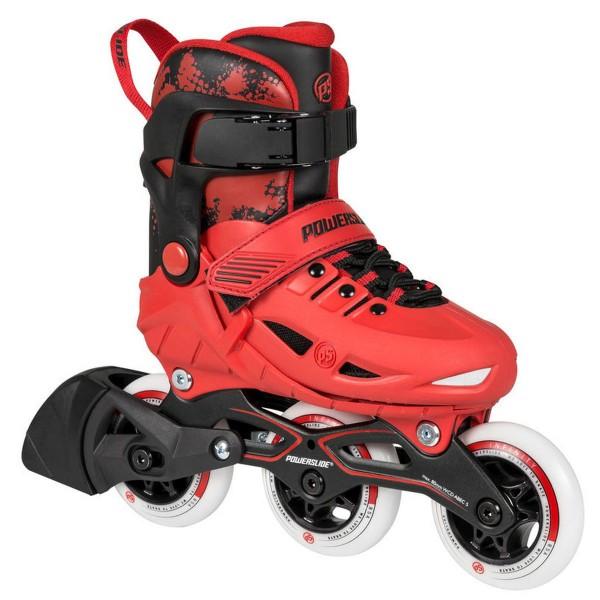 Powerslide Phuzion Universe Kids Red Kinder Inline Skates rot