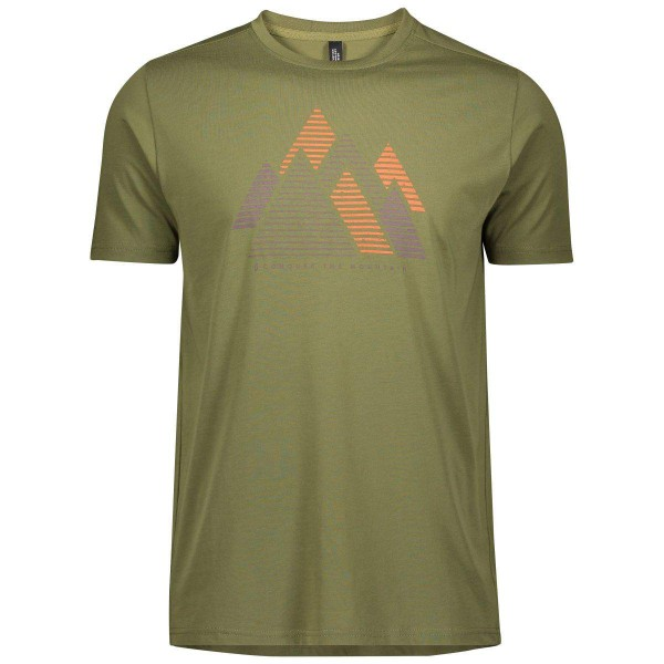 Scott Trail MTN DRI graphic Shirt Laufshirt grün