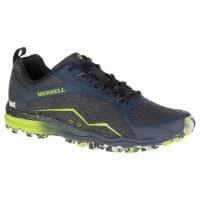 Merrell All Out Crush Tough Mudder Trail Running Laufschuhe blau