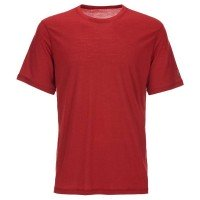 Super.Natural Base Tee 140 Merino Funktionsshirt rot